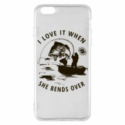 Чохол для iPhone 6 Plus/6S Plus I love it when she bends over