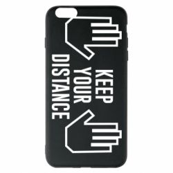 Чохол для iPhone 6 Plus/6S Plus Keep your distance