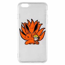 Чохол для iPhone 6 Plus/6S Plus Kurama And Naruto