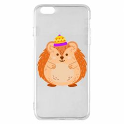 Чохол для iPhone 6 Plus/6S Plus Little hedgehog in a hat