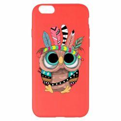 Чохол для iPhone 6 Plus/6S Plus Little owl with feathers