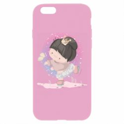 Чехол для iPhone 6 Plus/6S Plus Little princess and butterfly