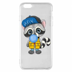 Чехол для iPhone 6 Plus/6S Plus Little raccoon