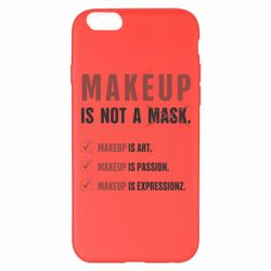 Чехол для iPhone 6 Plus/6S Plus Make Up Is Not A Mask