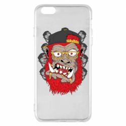 Чехол для iPhone 6 Plus/6S Plus Monkey Style