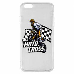 Чехол для iPhone 6 Plus/6S Plus Motocross