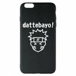 Чохол для iPhone 6 Plus/6S Plus Naruto dattebayo!