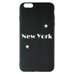 Чехол для iPhone 6 Plus/6S Plus New York and stars