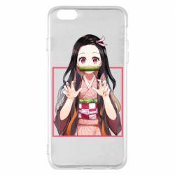 Чохол для iPhone 6 Plus/6S Plus Nezuko