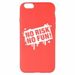 Чохол для iPhone 6 Plus/6S Plus No Risk No Fun