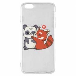 Чохол для iPhone 6 Plus/6S Plus Panda and fire panda
