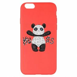 Чехол для iPhone 6 Plus/6S Plus Panda hugs