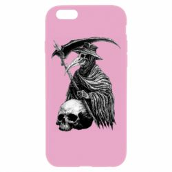 Чехол для iPhone 6 Plus/6S Plus Plague Doctor graphic arts