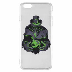 Чехол для iPhone 6 Plus/6S Plus Plague Doctor