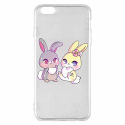Чохол для iPhone 6 Plus/6S Plus Rabbits In Love