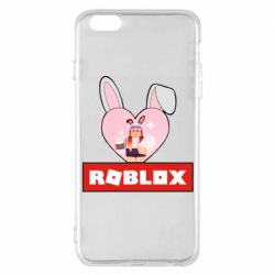 Чехол для iPhone 6 Plus/6S Plus Roblox Bunny Girl Skin