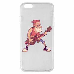 Чохол для iPhone 6 Plus/6S Plus Rock'n'roll Santa