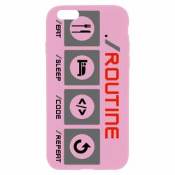 Чохол для iPhone 6 Plus/6S Plus Routine code