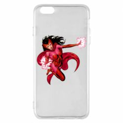 Чохол для iPhone 6 Plus/6S Plus Scarlet Witch comic art