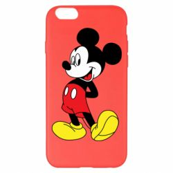 Чехол для iPhone 6 Plus/6S Plus Smiling Mickey