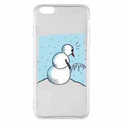Чохол для iPhone 6 Plus/6S Plus Snowman. It's Cold!
