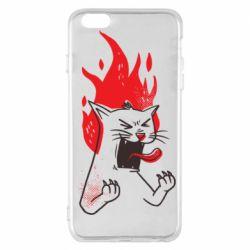 Чохол для iPhone 6 Plus/6S Plus The cat is mad