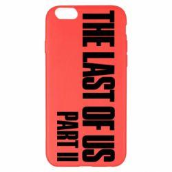 Чехол для iPhone 6 Plus/6S Plus The last of us part 2 logo
