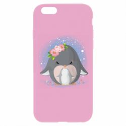Чехол для iPhone 6 Plus/6S Plus Two cute penguins