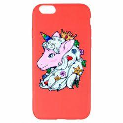 Чохол для iPhone 6 Plus/6S Plus Unicorn Princess