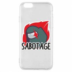 Чохол для iPhone 6S Among Us Sabotage