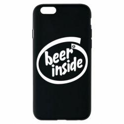 Чехол для iPhone 6S Beer Inside