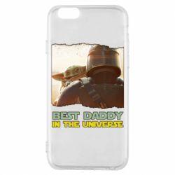 Чохол для iPhone 6S Best daddy mandalorian