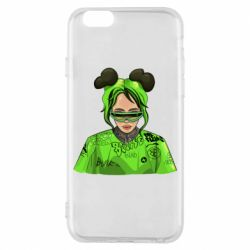Чохол для iPhone 6S Billie Eilish green style