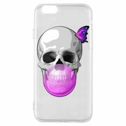 Чохол для iPhone 6S Butterfly on the skull