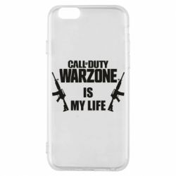 Чохол для iPhone 6S Call of duty warzone is my life M4A1