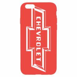 Чехол для iPhone 6S Chevrolet 3D