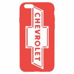 Чехол для iPhone 6S Chevrolet Logo Small