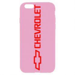 Чехол для iPhone 6S Chevrolet  Vert