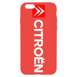 Чехол для iPhone 6S Citroën Logo