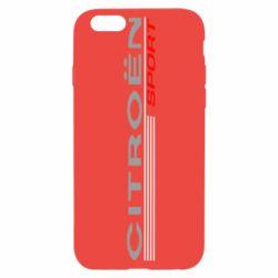 Чехол для iPhone 6S Citroen Спорт