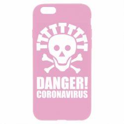 Чохол для iPhone 6S Danger coronavirus!