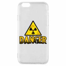 Чохол для iPhone 6S Danger icon