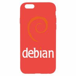 Чехол для iPhone 6S Debian