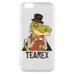 Чохол для iPhone 6S Dinosaur with tea