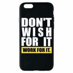 Чохол для iPhone 6S Dont wish