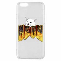 Чохол для iPhone 6S Doom меов cat