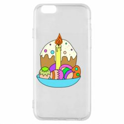 Чохол для iPhone 6S Easter cake and eggs