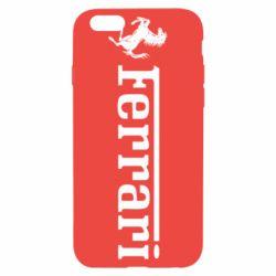 Чехол для iPhone 6S Ferrari