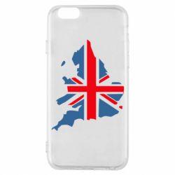 Чехол для iPhone 6S Флаг Англии