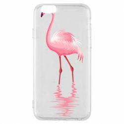 Чохол для iPhone 6S Фламинго